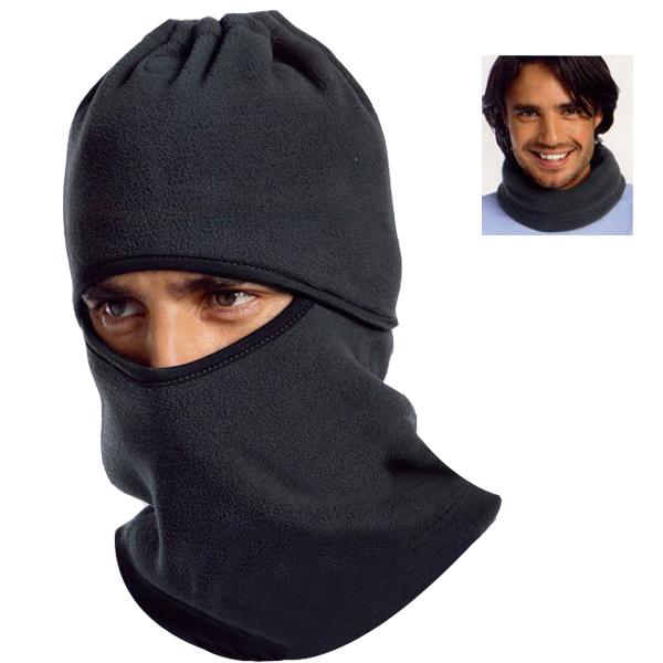Black Fleece Bike Ski Snowboard Half Face Full Winter Wind Mask Neck Warmer Cap Hat for Cycling Motorcycle Men Women(China (Mainland))
