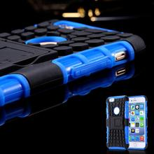 2 In 1 Style Rugged Hard TPU + PC Hybrid Stand Phone Case For iPhone 6 4.7 inch Slim Heavy Duty Armor Back Cover Bag For iPhone6