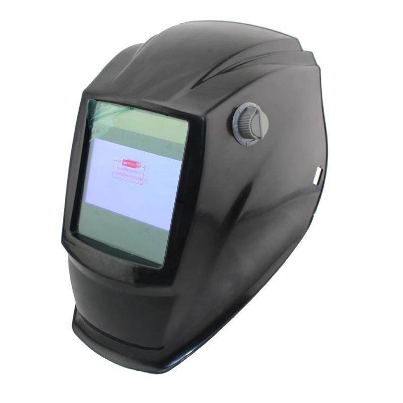 Out control Big view eara 4 arc sensor Solar auto darkening TIG MIG MMA welding mask/helmet/welder cap/welding lens/face mask(China (Mainland))