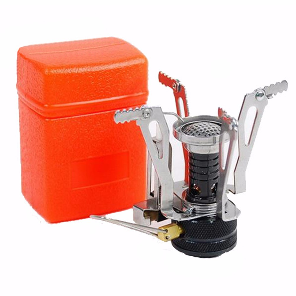 E-gear Portable Outdoor Picnic Foldable Gas Burner Camping Mini Ultralight Steel Stoves Burners Outdoor Equipments EDC Tools(China (Mainland))