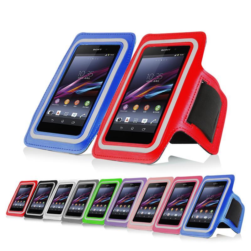 Гаджет  New arrival high quality multicolor sports running jogging gym arm band cool cover case For Sony Xperia Z2 Z3 L55 C770x L50W None Телефоны и Телекоммуникации