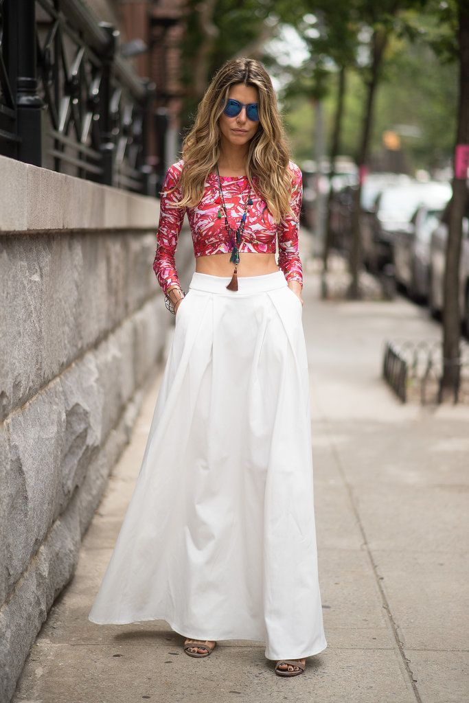 2015 Women Fashion Solid Maxi Skirts High Waist White Skirts Long Casual Brand Skirt Plus Size