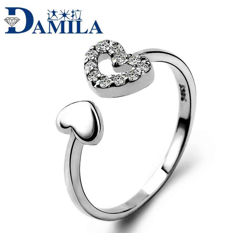 Pure Silver Rings Pure Silver Ring Heart