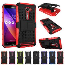 Dual Layer Rugged Hybrid Armor Case Heavy Duty Impact Hard Cover Asus Zenfone 2 ZE500CL 5.0 inch/Zenfone 2e - elephone store