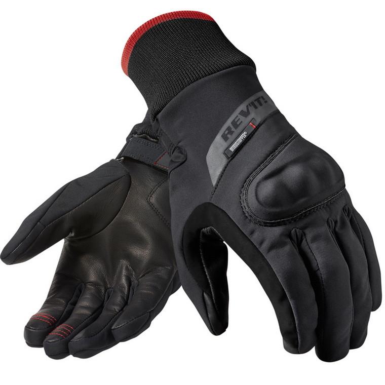 Купить 2016 Новый REV'IT! кратер WSP мотоцикл езда перчатки revit мотогонщиков перчатки водонепроницаемый ветрозащитный черный размер S, M, L, XL