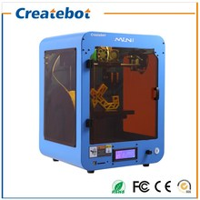 2015 Professional Personal Small Createbot MINI 3D Printer with Heatbed and Single Extruder LCD Screen Support ABS/PLA/PVA/PETG