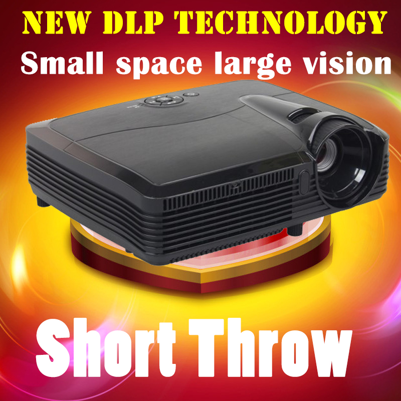 New DLP OSRAM LED Light Bulb Home Theater Projector 7500 lumens LED Projector Full HD 1080P 3D Smart Projector(China (Mainland))