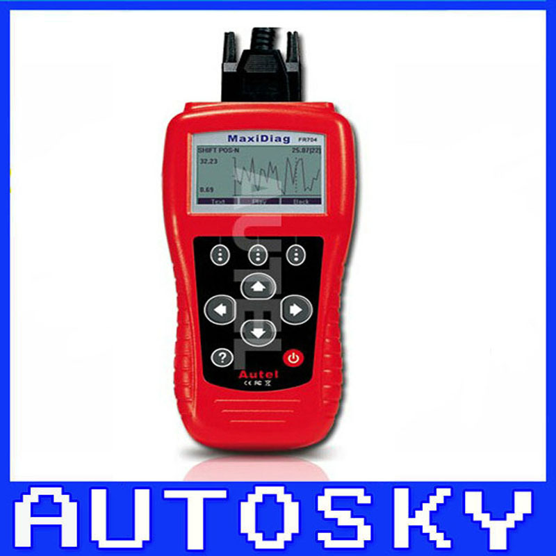 High Quality MaxiScan FR704 FR 701 FR-701 Code reader For French vehicles 3 year warranty(China (Mainland))