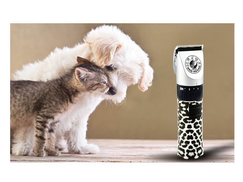 Rechargeable Pet Dog Cat Hair Trimmer Pet Hair Cutting Machine Styling Tools Dog Hair Clippers With Ceramic Cutter Free Shipping(China (Mainland))