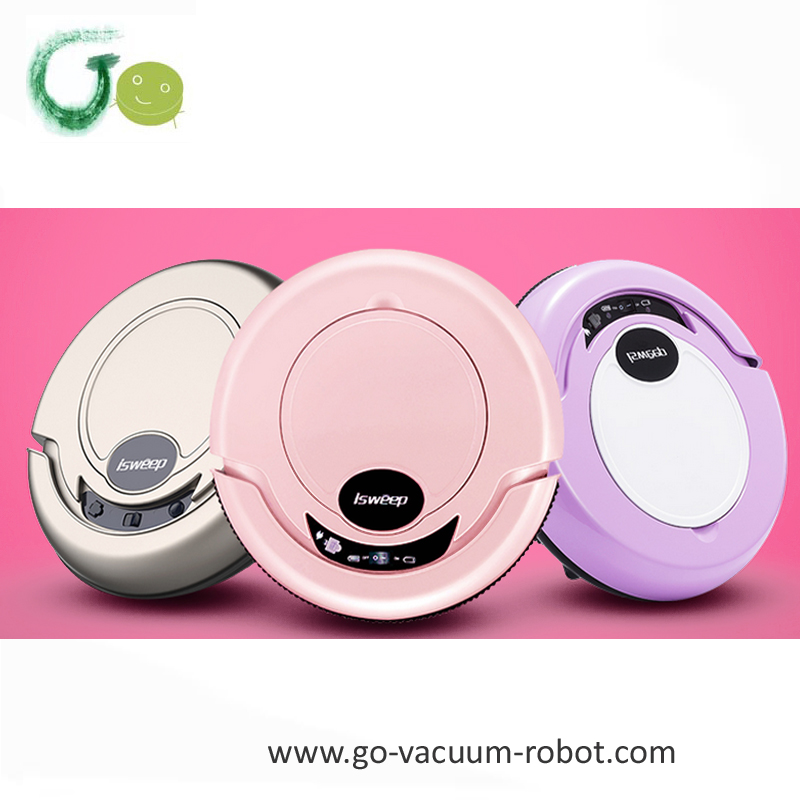 Smart 3 colors available floor vacuum cleaner robot sweeper hoover clean machine mop robot cleaner home appliance(China (Mainland))