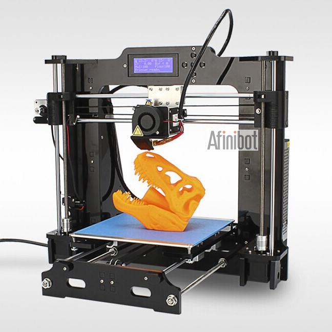 6 Material size 200 200 180mm High Quality Precision Reprap Prusa i3 DIY 3d Printer kit