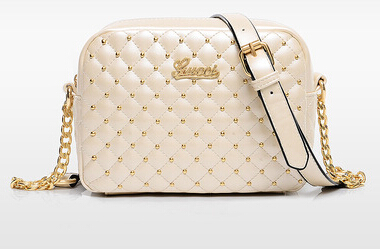 Korean Style Diamond Lattice Chain Women Bags 2015 Women Leather Handbags Small Flap Messenger Bag Cross Body Shoulder Bags(China (Mainland))