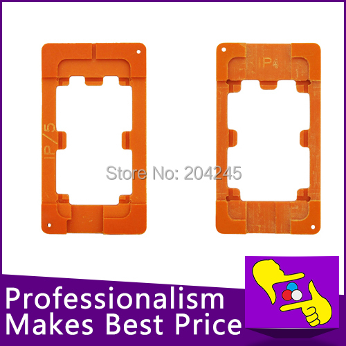 2pcs/lot ,LCD screen refurbishment mould molds LCD Holder for iphone 4 4s & iphone 5 5G , FREE SHIPING(China (Mainland))