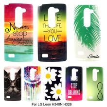 Fashion Ultra Thin Gel Silicone Soft TPU Pattern Cover Case LG Leon 4G LTE C40 H340N H340 H320 H324 H326 C50 4.5'' phone bag - Tesco Pioneers Co., Ltd store
