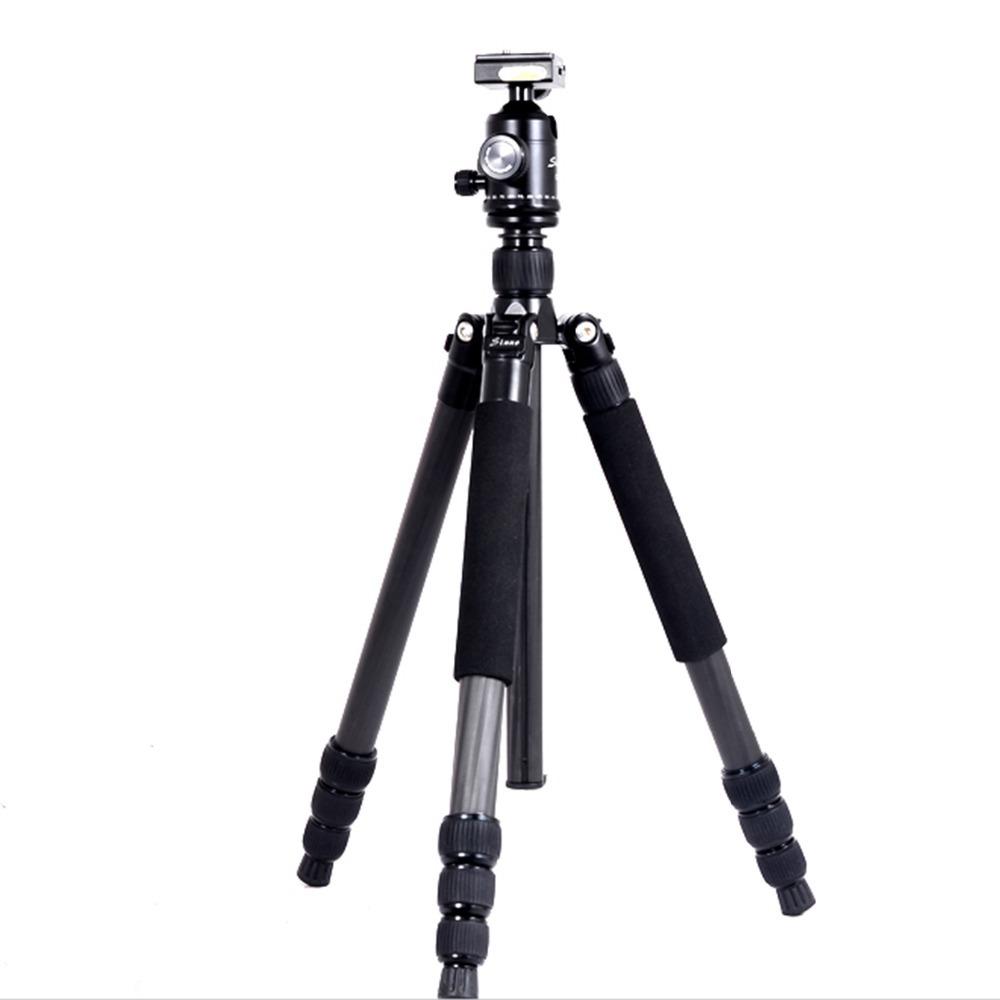 Sinno Carbon fiber tripods for digital cameras black professional portable tripods(China (Mainland))