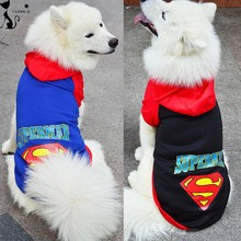 Buy Large Pet Dog Clothes Superman Big Dog Coat Jacket Hooded Sport Golden Retriever Clothing Winter Pet Outwears 2XL-9XL 114 for $5.94 in AliExpress store