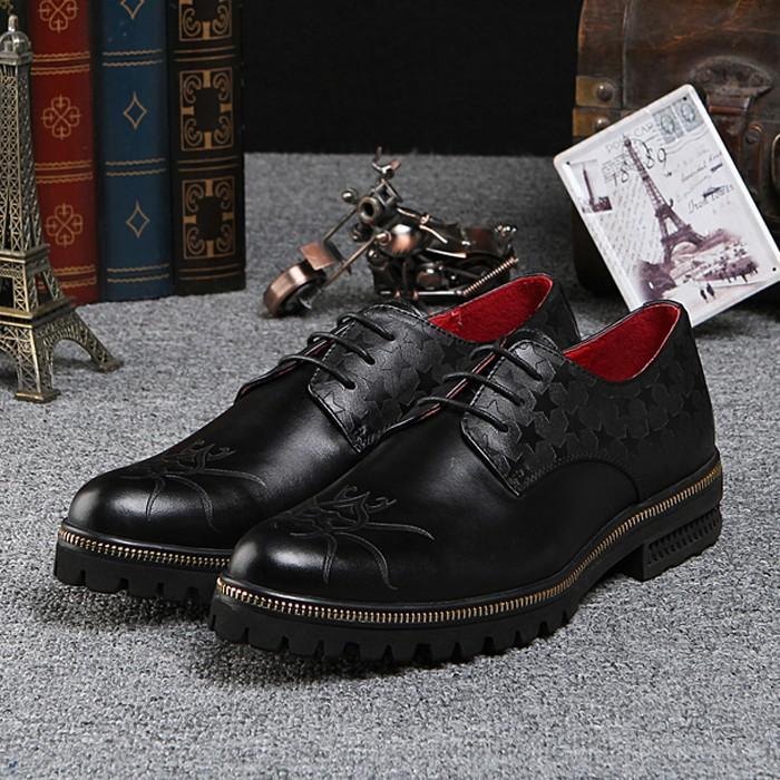 Здесь можно купить  2015 New Fashion Genuine Leather Cowhide Formal Designer Brand Man Flats Men