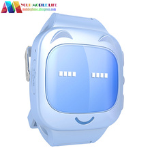 New candy colors Sweet Cat children's phones watches phone positioning watche voice broadcast student hand ring anti-lost(China (Mainland))
