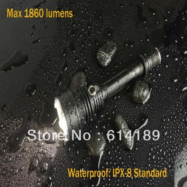 CRELANT 7G5MT CREE MT G2 1860lm Stepless Dimming LED Tactical Flashlight (2x18650/4xCR123A)<br><br>Aliexpress