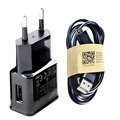 EU Plug Wall Travel Charger USB Cable For Android Samsung Galaxy S3 S4 S5 S6 S7Edge