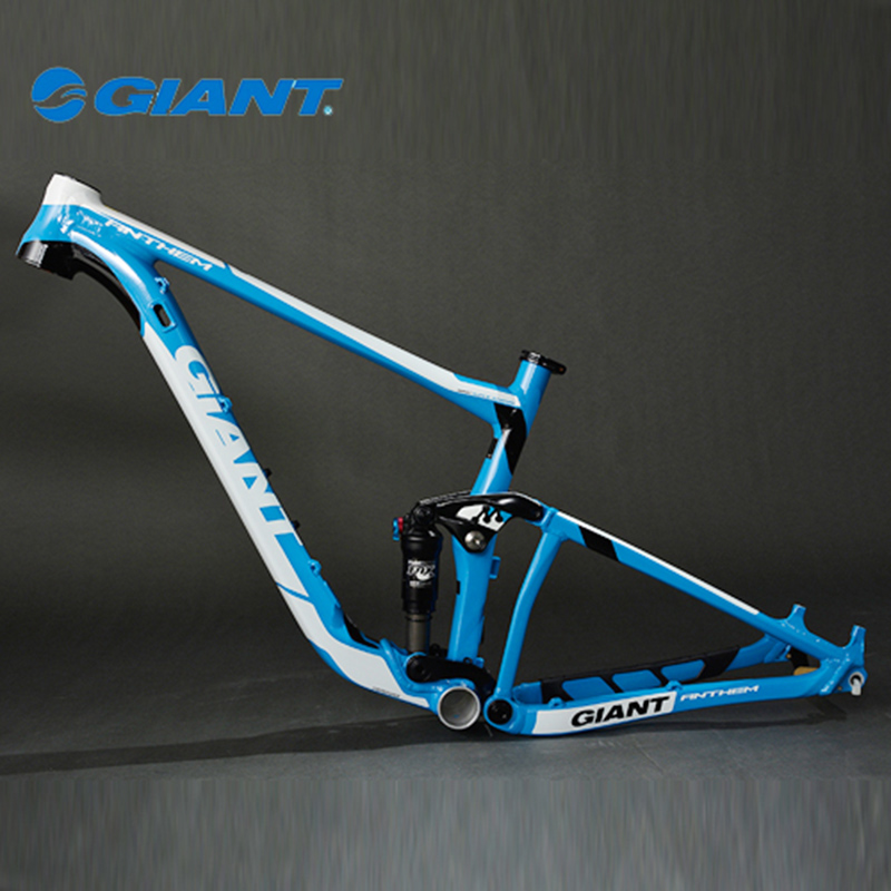 "GIANT New Arrival Professional Fashion Frame Apperance Anthem 27.5-FR MTB Bike Bicycle Frame Size 27.5""*16""(S) Blue White Black(China (Mainland))"
