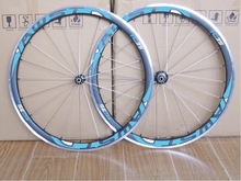 Buy 38mm Alloy Carbon wheels Paint White carbon 38mm clincher carbon wheelset 700C Alloy Braking track rims for $345.00 in AliExpress store