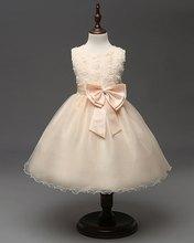ANGELSBRIDEP הקודש שמלות ילדה פרח לחתונה פרח בציר ערב שמלות ילדים ילדה קטנה תחרות שמלה לנשף(China)