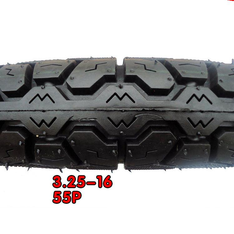 High Quality 3.25-16 Front and Rear Motorcycle Tyre TT(China (Mainland))