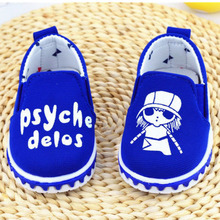 spring autumn AB shoes soft soled canvas shoes baby toddler shoes for 0-2 years(China (Mainland))
