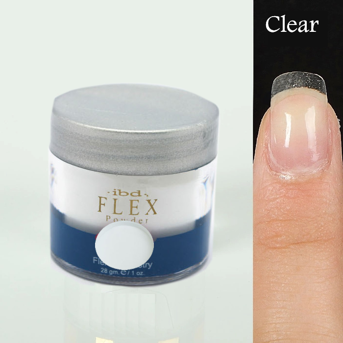 Clear 1 pcs 2015 new IBD Nail Art Flex Acrylic Powder Chemistry 28g Polymer Crystal(China (Mainland))