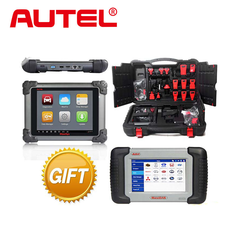 100% Original AUTEL MAXISYS MS908 WIFI / Bluetooth Wireless Diagnostic System +Free Online Update+Multi-Language+free gift DS708(China (Mainland))