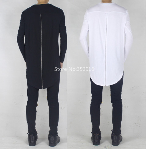 mens long back t shirt 53657f35b83