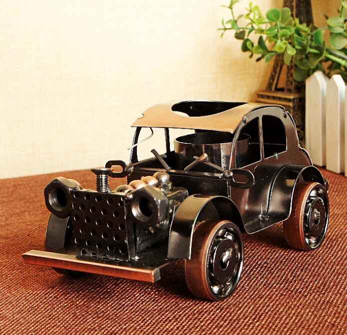 Vintage car model craft ornaments accessories gifts 1291 two color chose(China (Mainland))