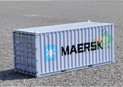 2015 Direct factory made 1:20 container model famous MSK line model good quality model gift and decoration free shipping(China (Mainland))