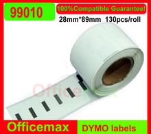 Rolls Dymo Compatible 99010 labelwriter 450 turbo Standard Address Labels Seiko SLP label 89x28mm 130 labels Per roll
