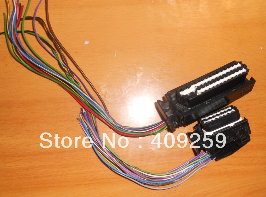 Car computer board engine wiring harness plug / 80-pin connector - Tianyu international electronic Co., LTD store