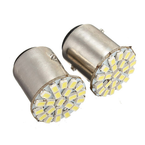 2015 новые 10x автомобилей из светодиодов лампы 1156 BA15S 22 из светодиодов 1206 СМД чистый белый автоматического включения сигнала обратного парковка лампа DC12V