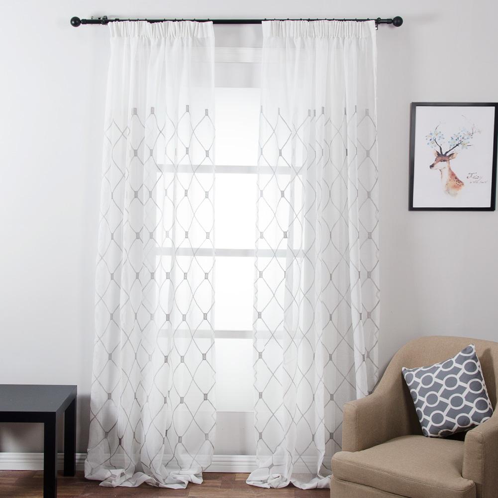 Online Get Cheap Sheer Curtains Design -Aliexpress.com ...