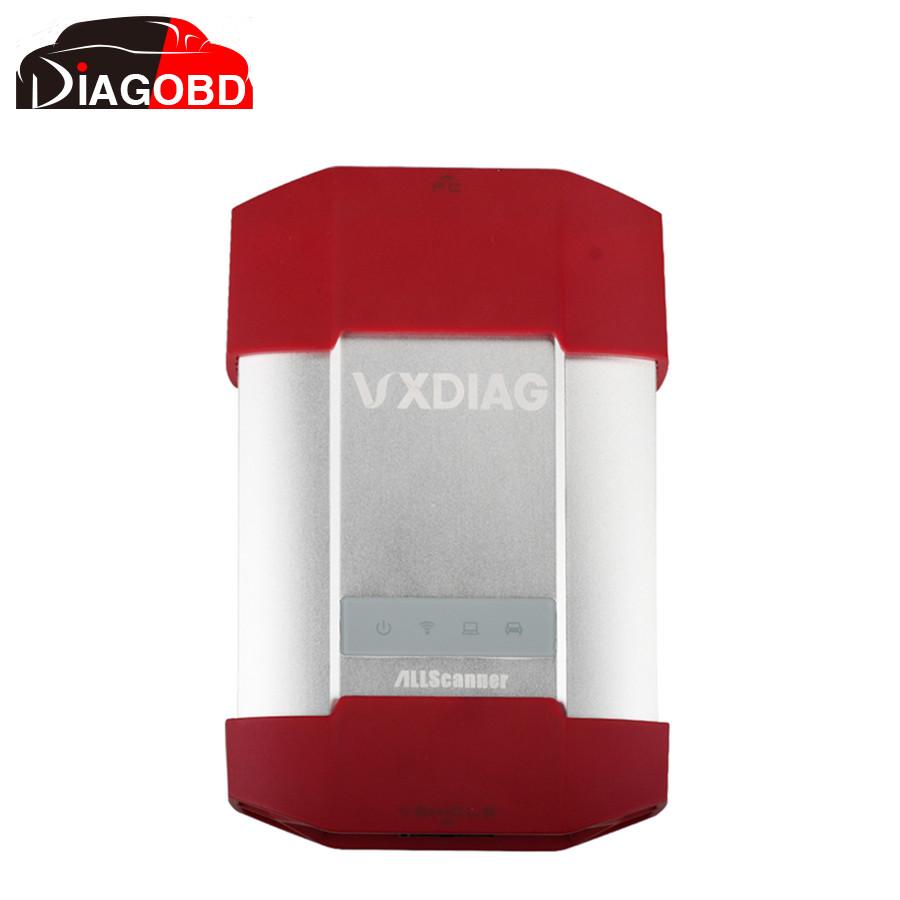 Wi-fi VXDIAG нескольких диагностический инструмент для TOYOTA V9.30.002 + для HONDA V3.014 + для LandRover / ягуар JLR V141 3 в 1 wi-fi версии
