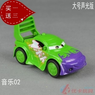 Large acoustooptical WARRIOR 2 alloy toy car