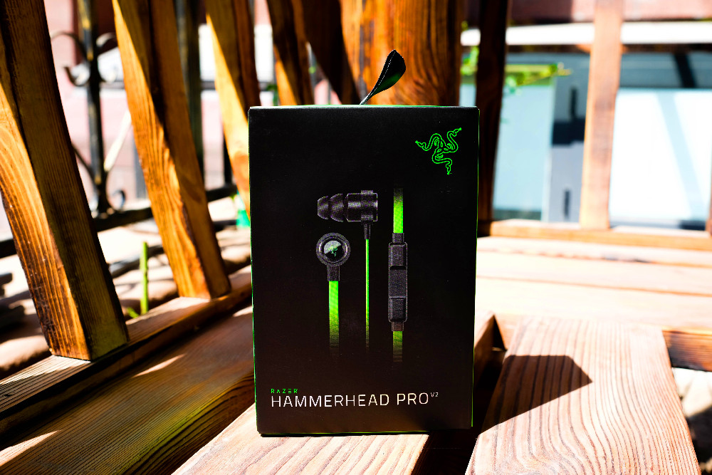 Newest professional gaming headset for Razer Hammerhead V2 Pro Earphone With Microphone In Ear Noise Isolation Stereo Deep Bass
