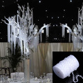 1 Roll of Beads 99FT 30M Octagonal Acrylic Crystal Beads Party Supplie DIY Romantic Window Curtain