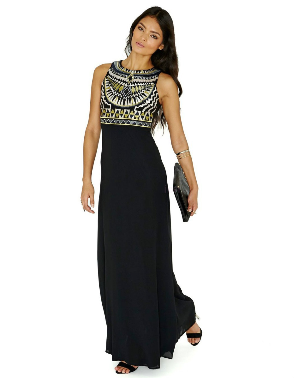 Maxi Dresses Choose a maxi dress for a maxed-out style! Floor-sweeping and figure-skimming, the long dress is entrance-making fashion at its best, with hints of prints and embellished detailing ensuring you look flawless in long lengths.