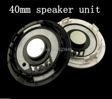 Superior 40mm fever Headset speaker unit Original disassemble unit(with surface cover)