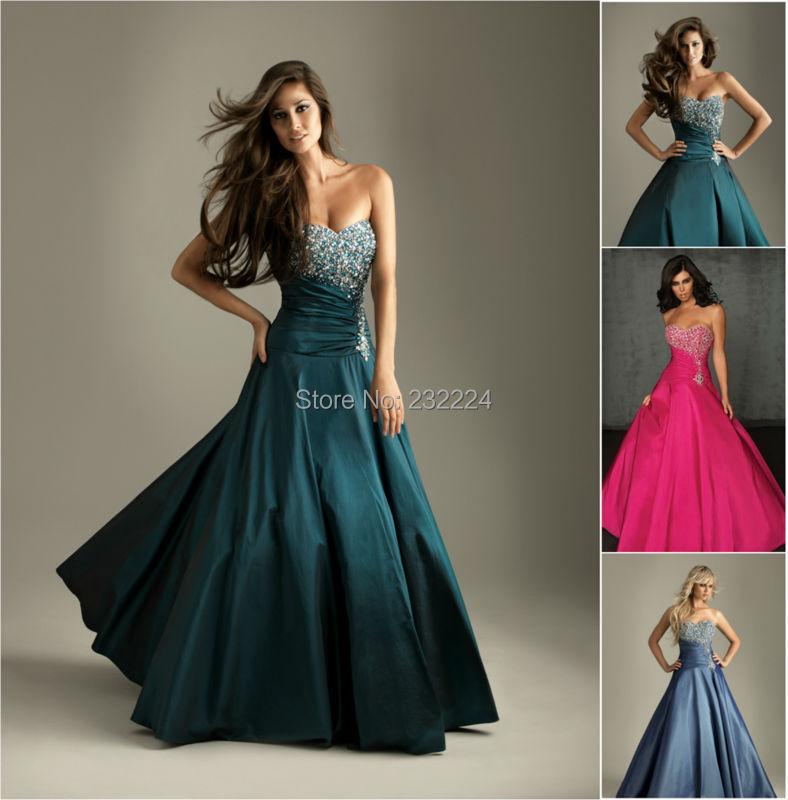 Long dress for graduation ball