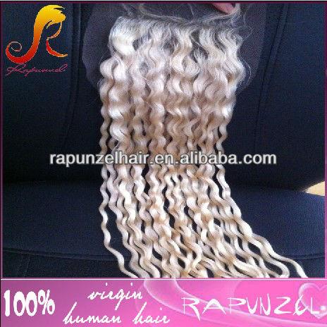 loose curl #613 blonde Peruvian hair lace closures<br><br>Aliexpress