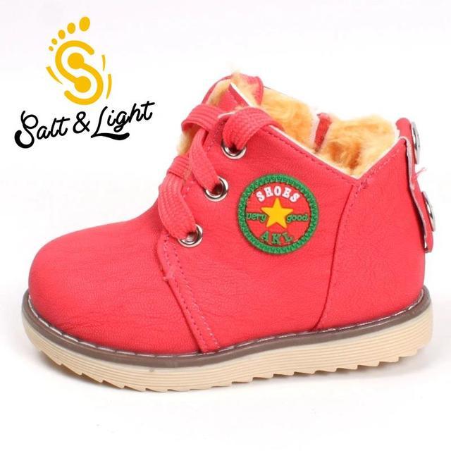 Горячие продажи детские зимние ботинки толщиной сохранить теплые хлопка мягкой сапоги мальчики девочки высокое качество не скользит удобные ботинки 273