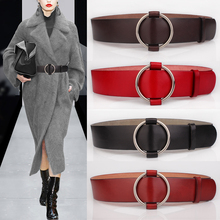 Buy First layer cowhide coat belt female dress one-piece dress cummerbund genuine leather fashion all-match decoration strap for $26.52 in AliExpress store