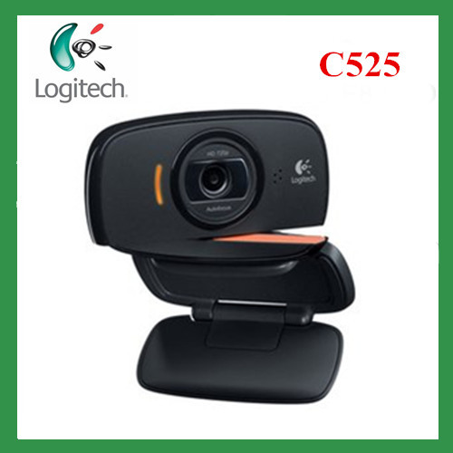 Free shipping Logitech C525 HD Video Webcam with Autofocus 8MP Pics and Built-in Microphone hd camera digital camera(China (Mainland))