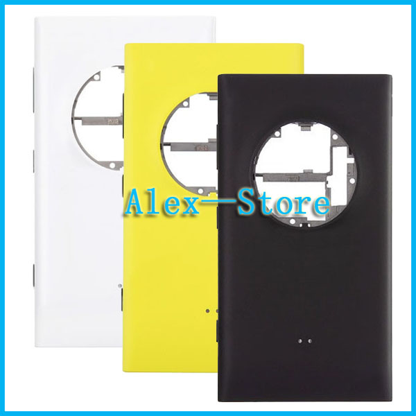 With SIM Card Tray Original for Nokia Lumia Back Battery Door for Nokia Lumia 1020 Back Cover Housing Replacement Free shipping(China (Mainland))